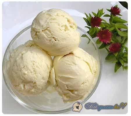 Мороженое своими руками без сливок
