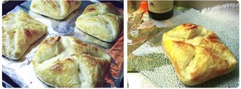Как сделать хачапури из слоеного теста?