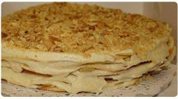 Как сделать торт «Наполеон» из слоеного тесто?