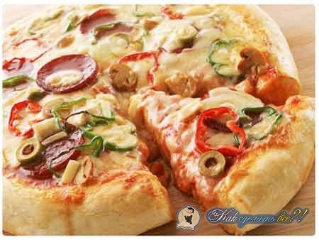 Как сделать тесто для пиццы?