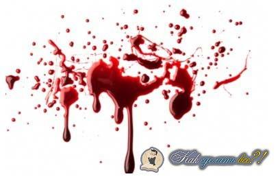 Сделать кровь в домашних условиях
