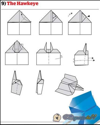 Как сделать самолеты из бумаги красивая