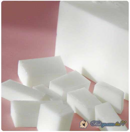 Как сделать мыло  без мыльной основы 30