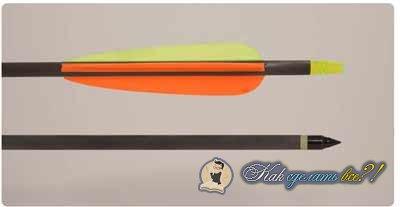Из чего сделать стрелы для лука своими