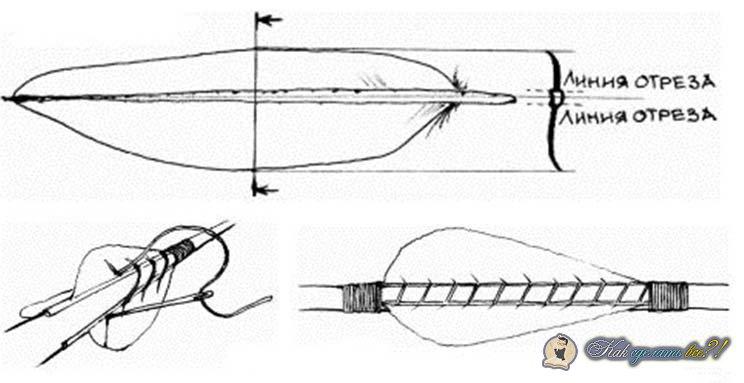 Как своими руками сделать лук и стрелы