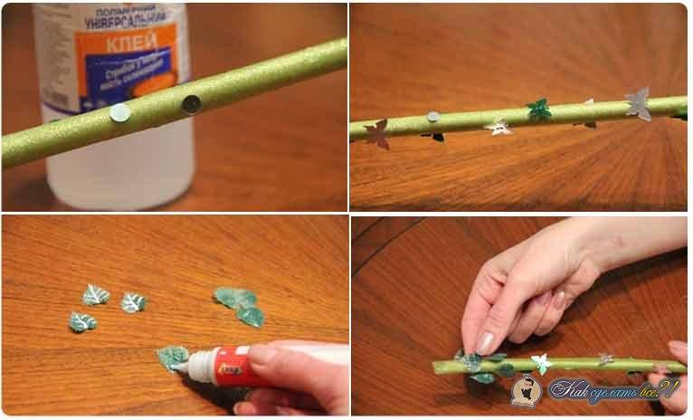 Как сделать волшебную палочку настоящую с магией в домашних условиях 13