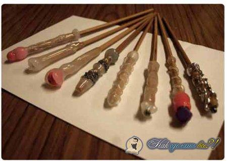 Как сделать волшебную палочку дома?