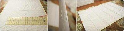 Как сделать римские шторы?