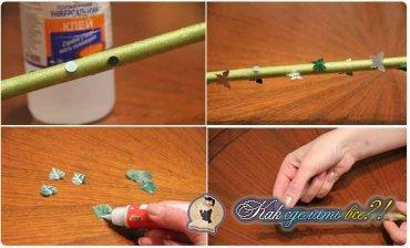 Как сделать волшебную палочку феи?