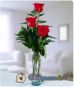Как сделать, чтобы розы дольше стояли?