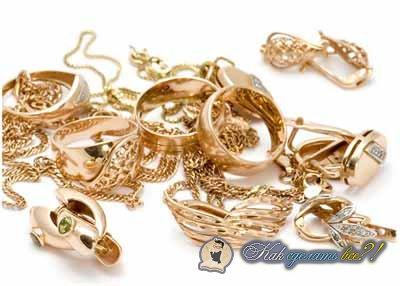 Как почистить золото в домашних условиях?