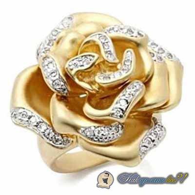 Чем почистить золотое кольцо с фианитами в домашних условиях