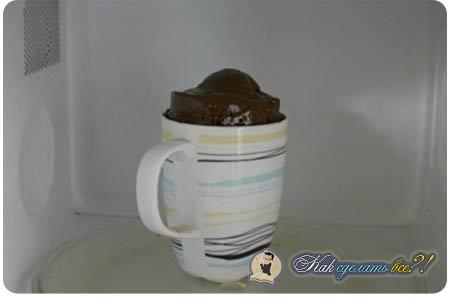 Как сделать кружку какао