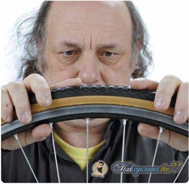 Как заклеить велосипедную камеру?