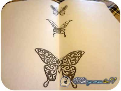 Декор стен бабочками своими руками: трафареты, материалы