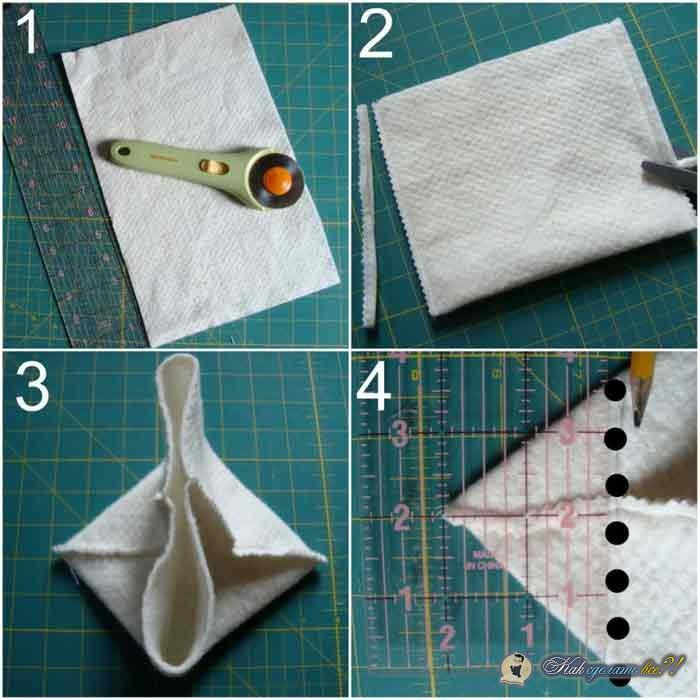 Как сделать корзинку из фетра