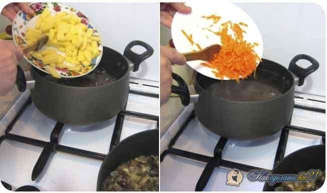 72Как сделать наваристый грибной суп