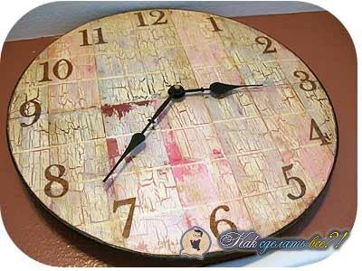 Годинник своими руками
