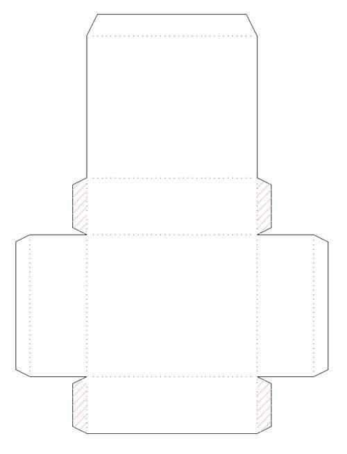 Как сделать коробку из листа