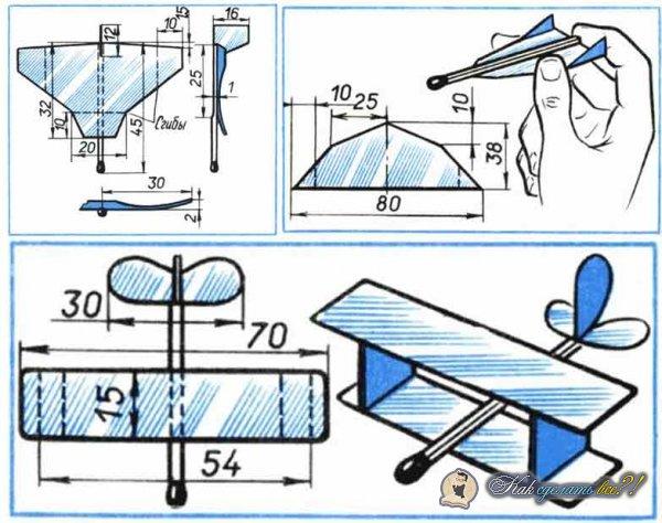 Как сделать планер из спичек?