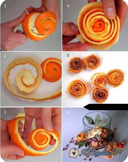 Как сделать букет из фруктов?