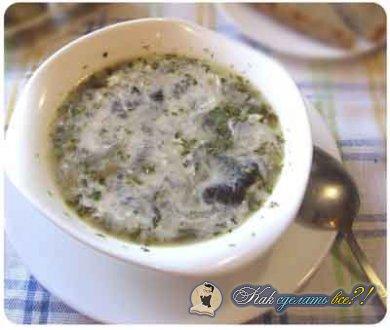 93Как сделать наваристый грибной суп