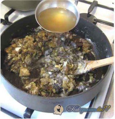 Как сделать грибной суп?