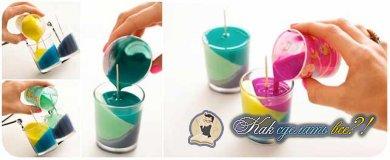 Как сделать свечу?