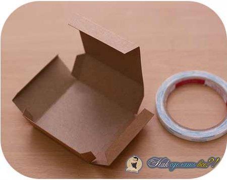 Как сделать коробку из листа бумаги?