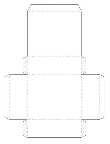 Как сделать коробочку из листа бумаги а4