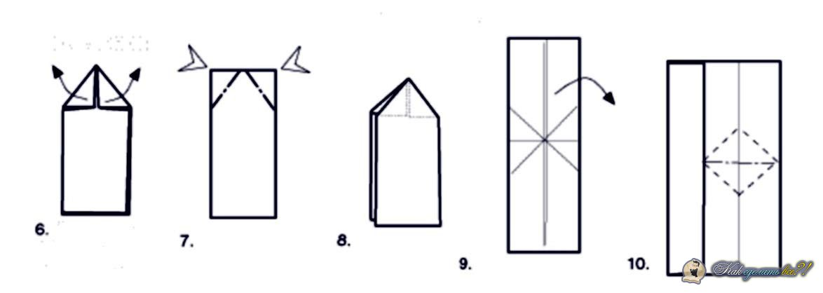 Как делают бумеранг инструкция