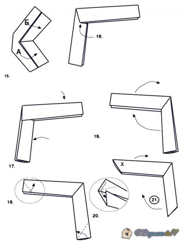 Как сделать сюрикен из бумаги инструкция