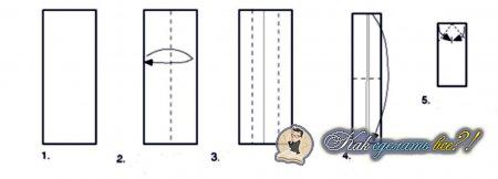 Как сделать оригами бумеранг 81