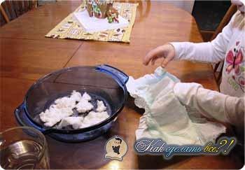 Как сделать искусственный снег видео 188