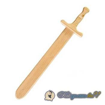 Как сделать меч ниндзя из дерева своими руками