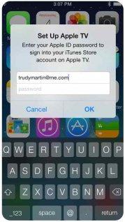 Как подключить iPhone к Apple TV?