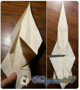 Как сделать меч из бумаги своими руками?