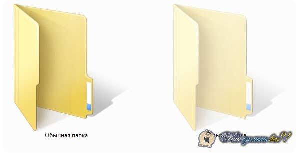 Как сделать невидимую папку?