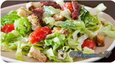 Как сделать салат Цезарь?