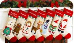 Как сделать рождественский носок?