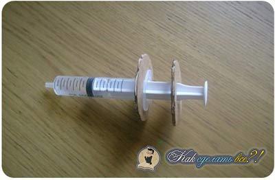 Как сделать медицинский шприц из бумаги 66