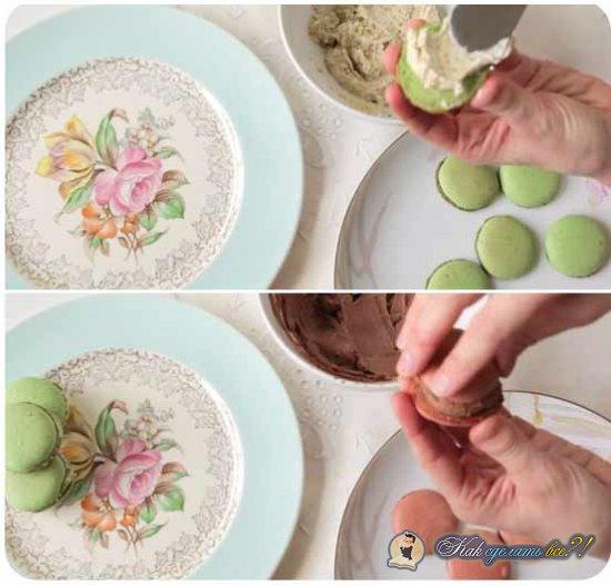 Как сделать макаруны?
