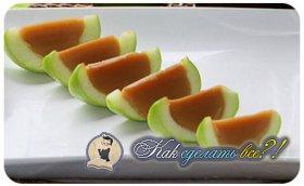 Как сделать яблоки в карамели?