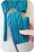 Как сделать Новогоднюю рукавичку?