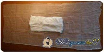 Как сделать ватно-марлевую повязку?