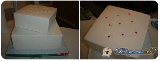 Как сделать 3-х ярусный торт?