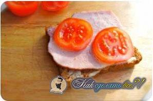 Как сделать горячие бутерброды?