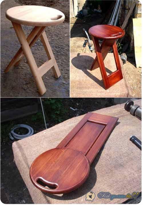 Оригинальное стул своими руками 75