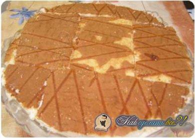 Как сделать торт мозаика?