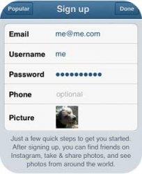 Как сделать аккаунт в инстаграм?